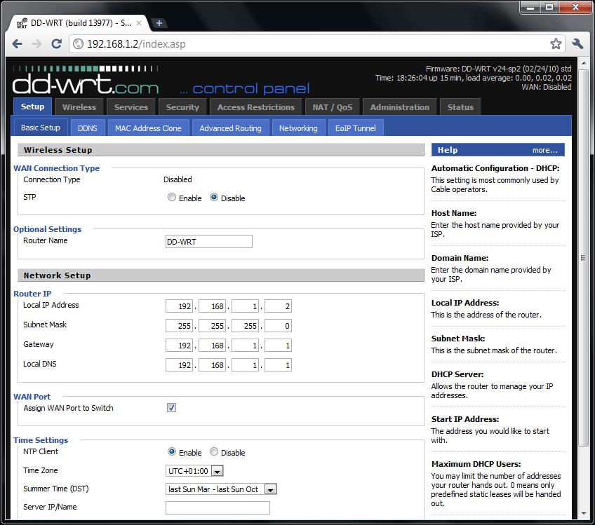 PerfectRouter com DD-WRT Tutorial - Atheros Repeater Bridge