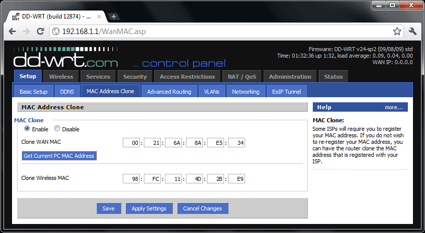 PerfectRouter com DD-WRT Tutorial - Atheros Access Point Configuration